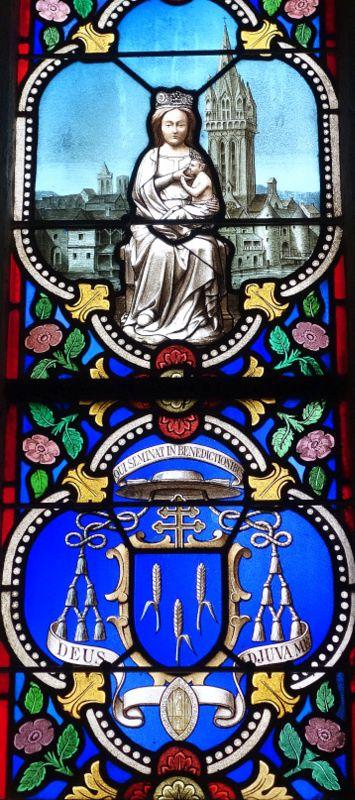 Kemper et son Saint Corentin