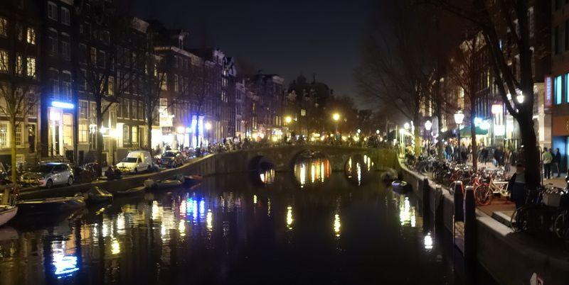 le quartier chaud d'Amsterdam