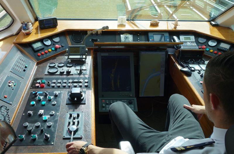 Navigation rhénane de Strasbourg à Breisach