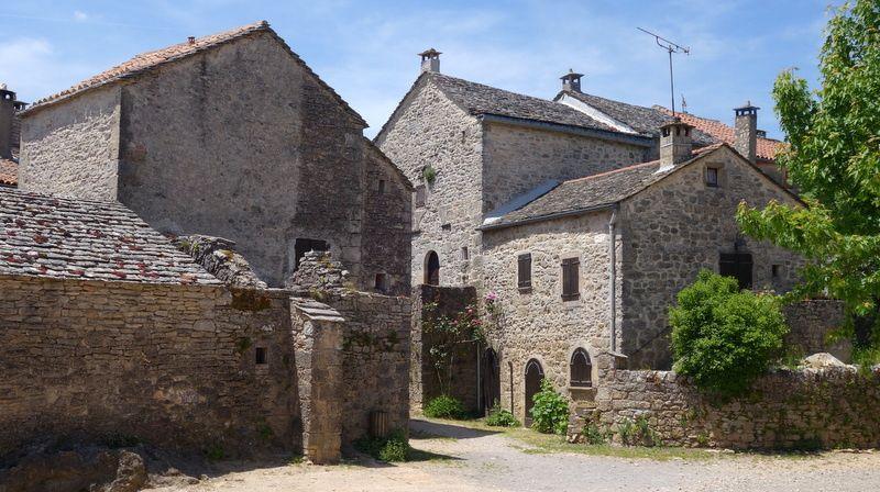 La Couvertoirade, village au millieu des Causses