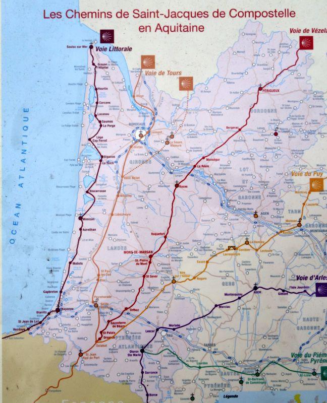 Vélodyssée 2016-3ème  étape : Seignosse – Contis-les-Bains.