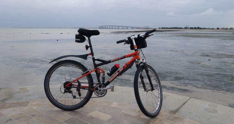 Vélodyssée 2016-Etape 12: l'île de Ré
