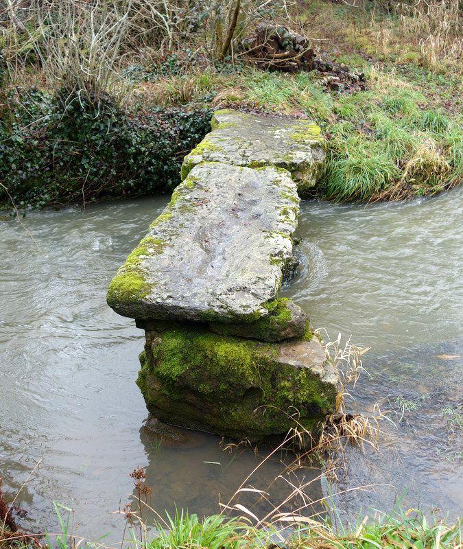 Le &quot&#x3B;Pont gaulois&quot&#x3B; de Kervon à Crozon.