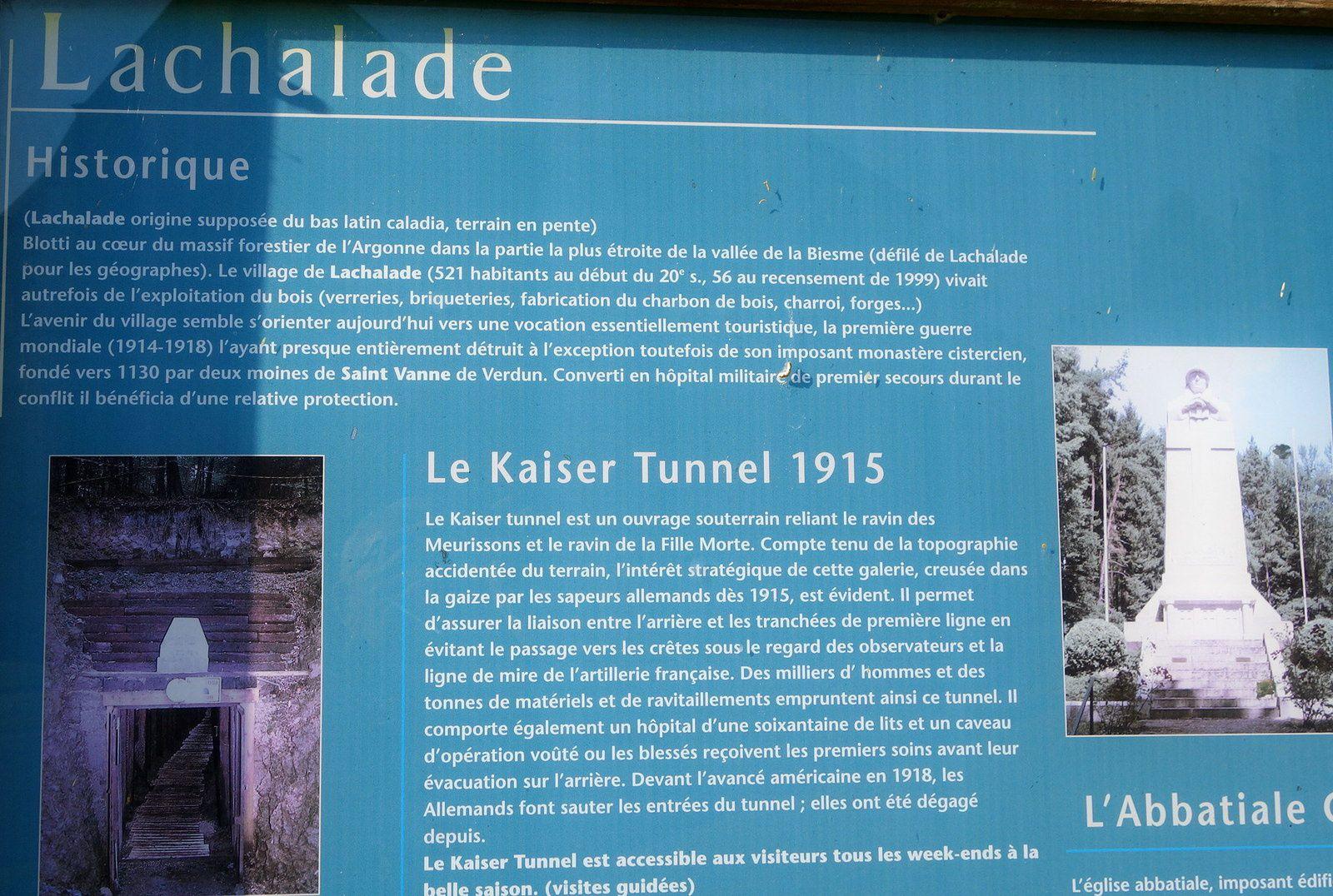 La Chalade, les Garibaldiens et la Haute Chevauchée