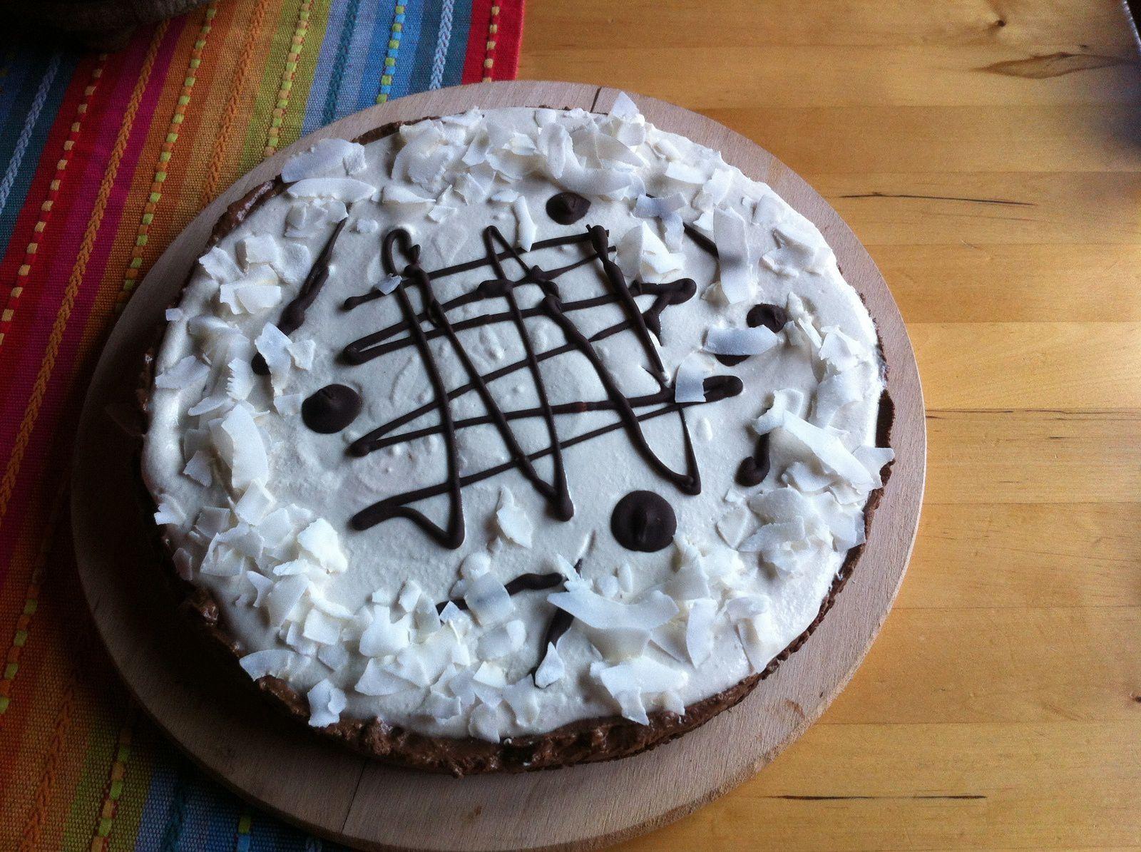 Gâteau Choco-coco-paleo-vegan etc.
