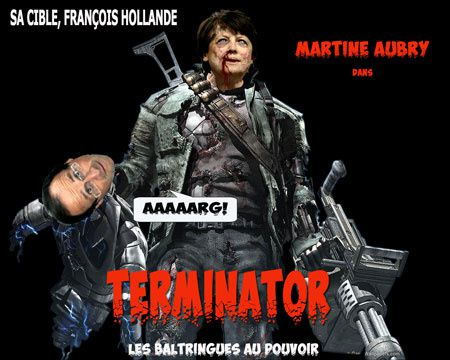 Martine AUBRY flingue Hollande.