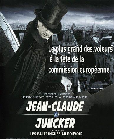 Le plus grand des voleurs à la tête de la commission européenne.