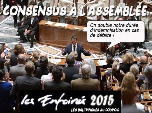 Consensus à l'assemblée.