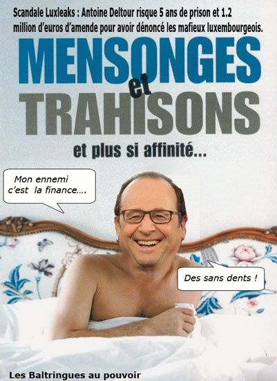 Scandale Luxleaks.