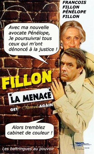 Fillon, de plus en plus grotesque !