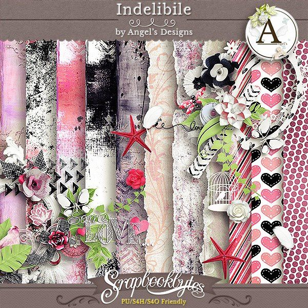 Kit &quot&#x3B; Indelibile&quot&#x3B; D'angels Designs