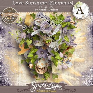 Kit &quot&#x3B; Love Sunshine&quot&#x3B; d'Angels Designs