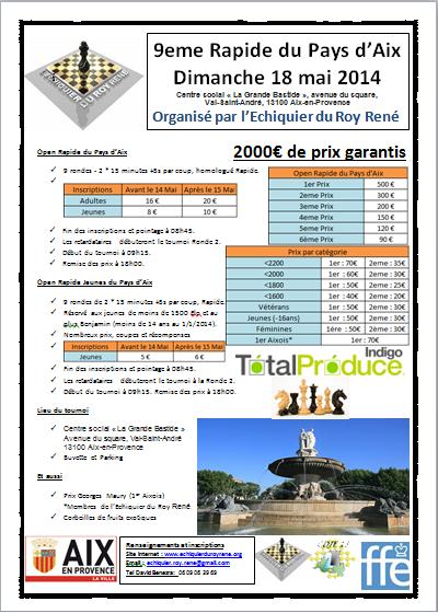 9eme Rapide du Pays d'Aix le 18 mai 2014