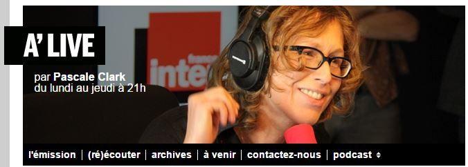 Pascale Clark sur France Inter