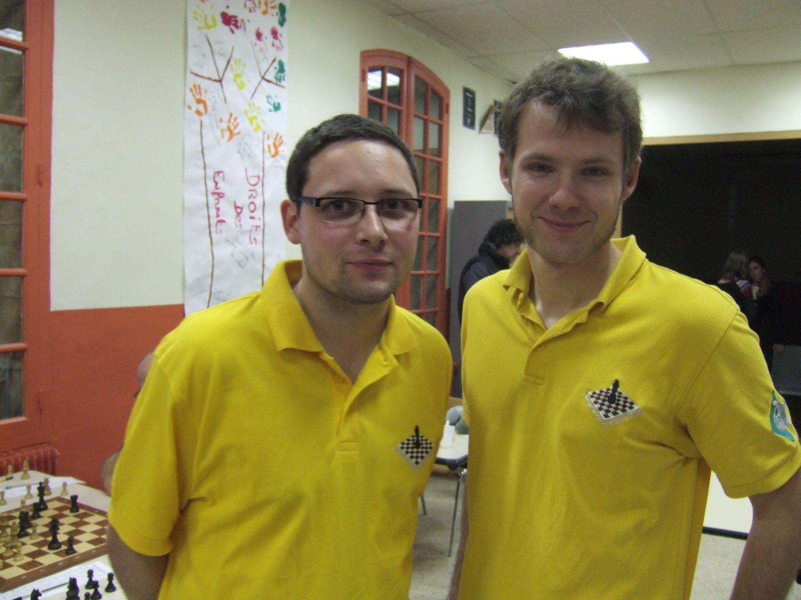 Maxime et Tim tous les 2 victorieux