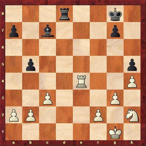 2 pions d'avance, ce n'est plus qu'une question de technique pour Kasparov