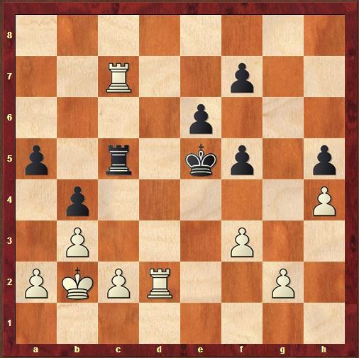 40.Rxc7? Habu n'aurait pas du échanger les tours car le Roi noir est trop fort maintenant.