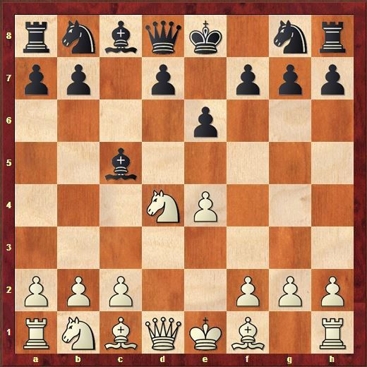1.e4 c5 2.Nf3 e6 3.d4 cxd4 4.Nxd4 Bc5!?