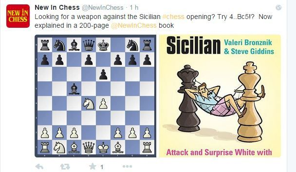 New in Chess book