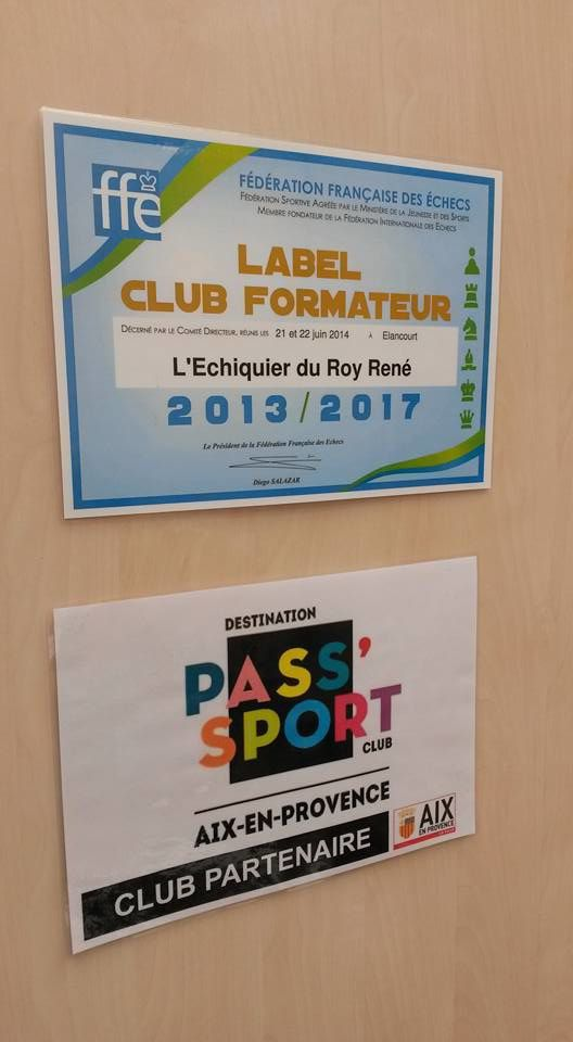 Label Club Formateur de l'ERR