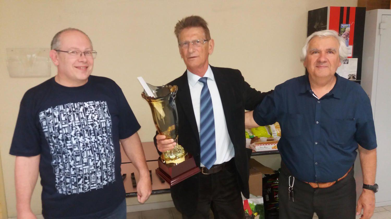 Gérard Bataglia remporte une nouvelle fois le tournoi Vétéran des Bouches du Rhône 2016.