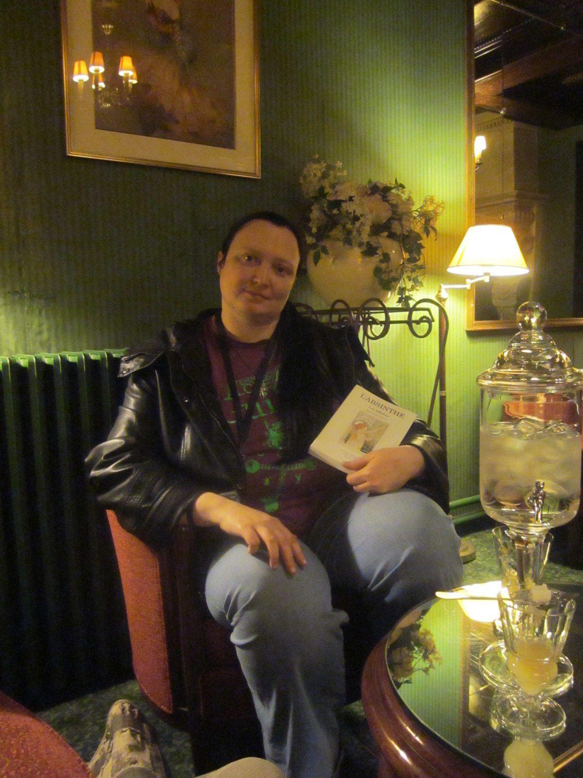 Tatiana à l'hôtel Royal Fromentin