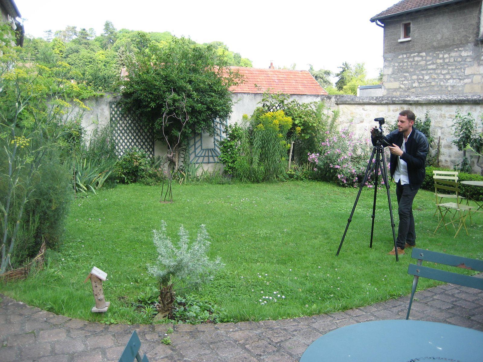 Mathieu Castel Maleskevitch, assistant réalisateur, sous le charme de la Fée verte.