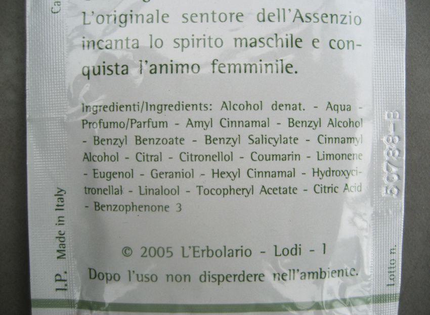 Dans la composition, on cherche en vain la moindre molécule d'absinthe !