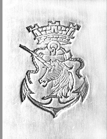 La licorne, emblème des Messageries maritimes. Collection Delahaye.