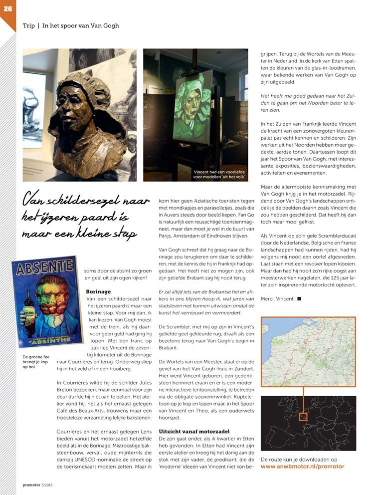 Pages de l'article de Michiel van Dam.
