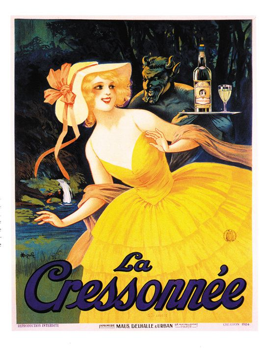 Affiche signée Auzolle, 1924. © Collection Delahaye.