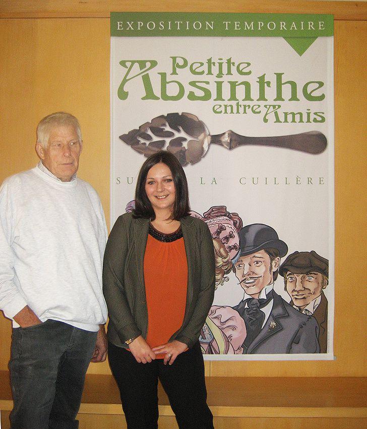 Claude Roussey et Laetitia Morand. Photo Delahaye.