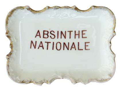 Absinthe Nationale de la Maison Bazinet. Collection Delahaye.