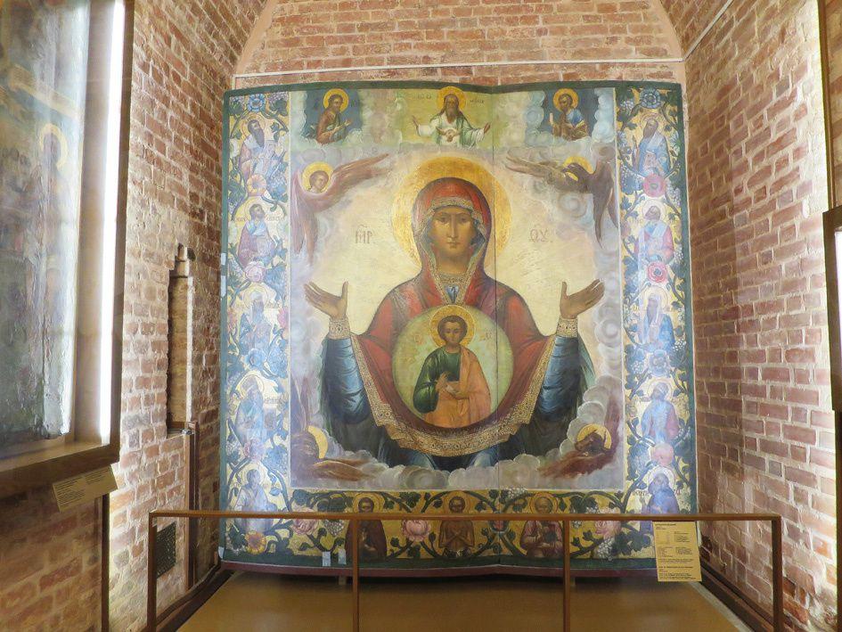 Quelques vues de l'intérieur de la basilique. Ph. Delahaye.