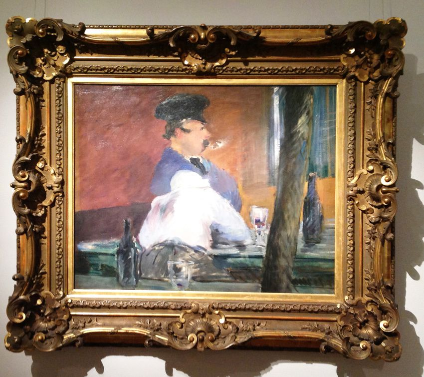 Édouard Manet. Le bar, 1878-1879. Ph. Delahaye.
