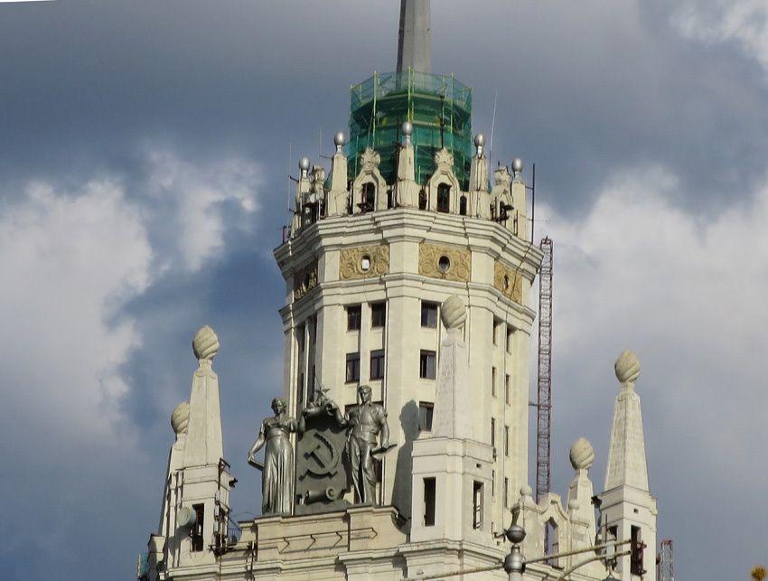 La tour Kotelnicheskaya. Ph. Delahaye.