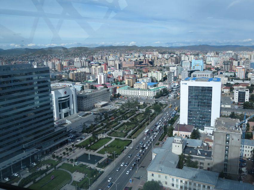 Quelques vues depuis la Blue Sky Tower.