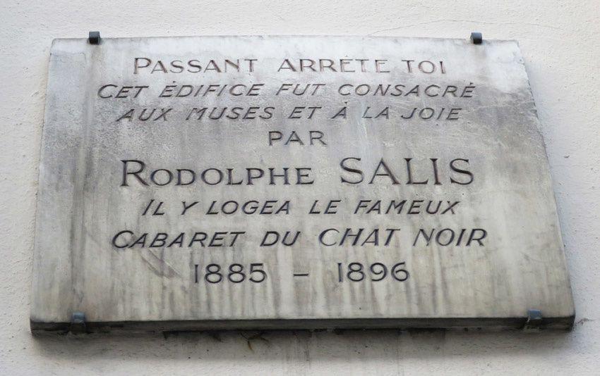 Plaque apposée au 12 rue Victor Massé. Ph. Delahaye.