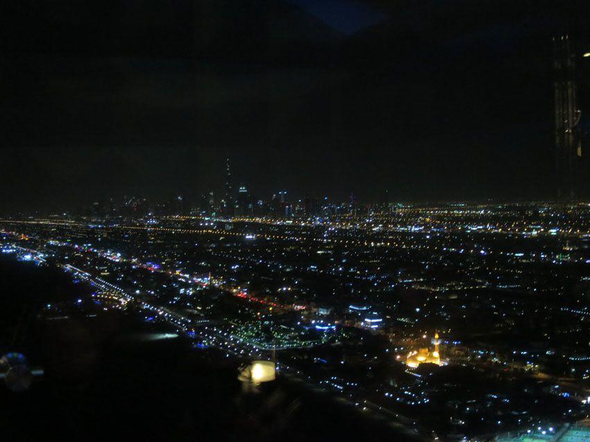 Vue de Dubaï depuis Burj al Arab. Ph. Delahaye.