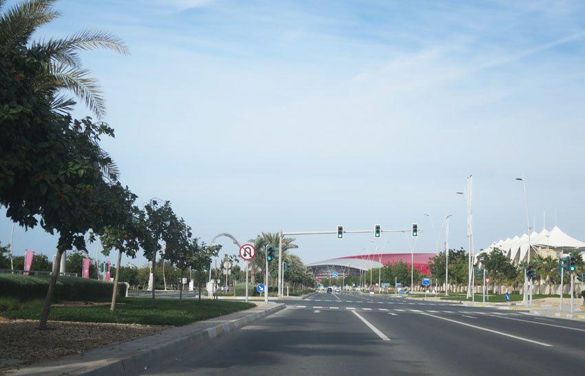 Le parc Ferrari couvert. Ph. Delahaye.