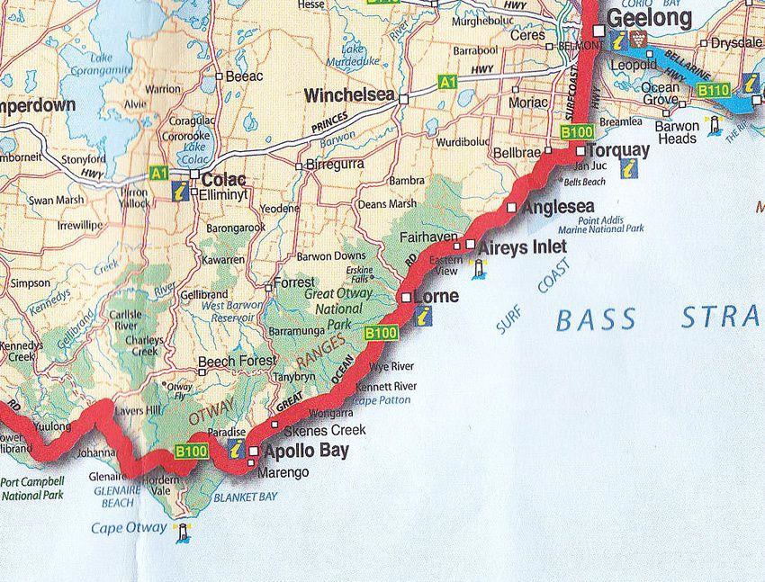 Carte pour suivre cette route incroyable. Ph. Delahaye.