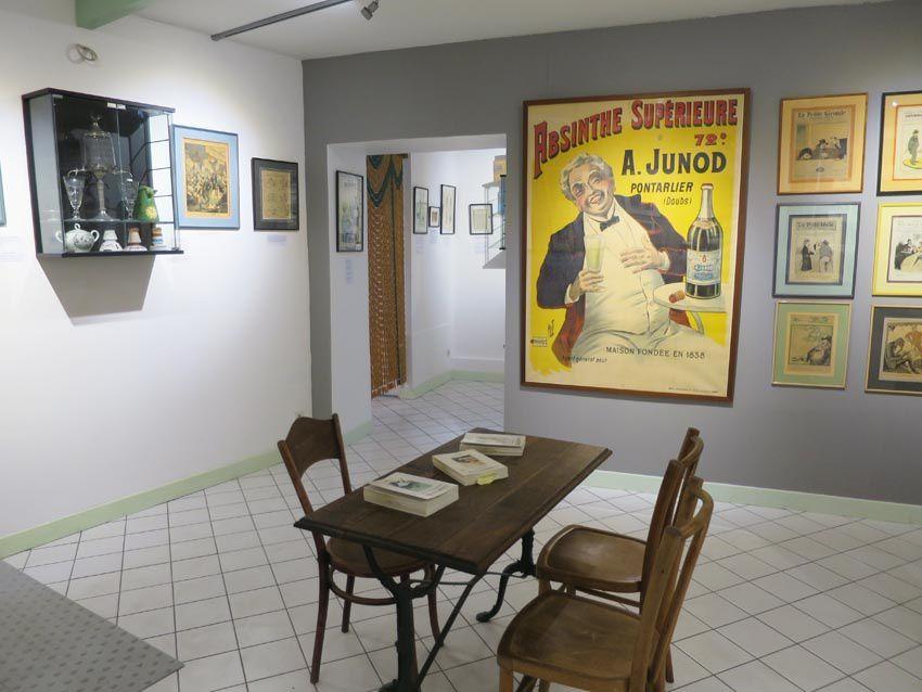 Musée de l'Absinthe. Ph. Delahaye.