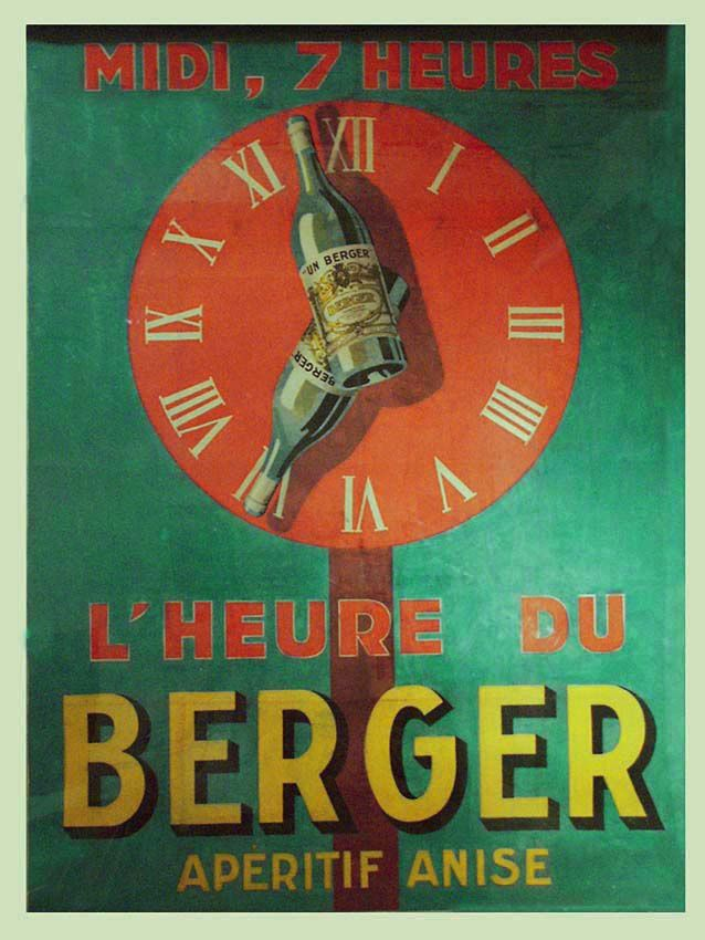 Affiche Berger anonyme, 1928. Coll. Walburger.