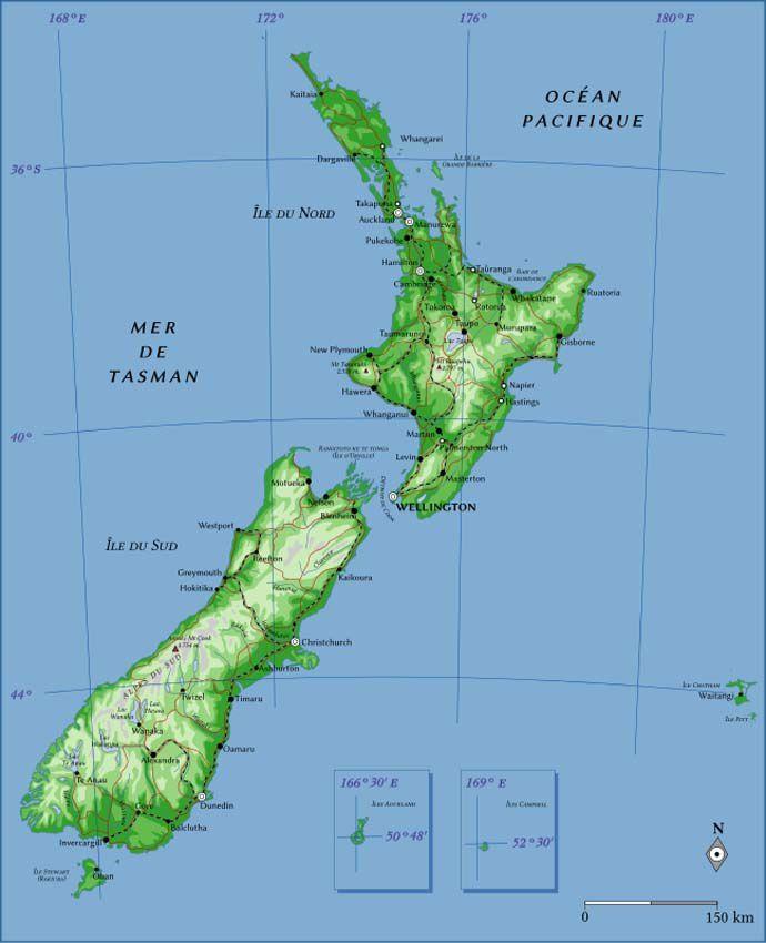 La Nouvelle-Zélande. Ph. Wikipedia.