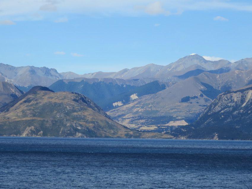 Lac Hawea. Ph. Delahaye.
