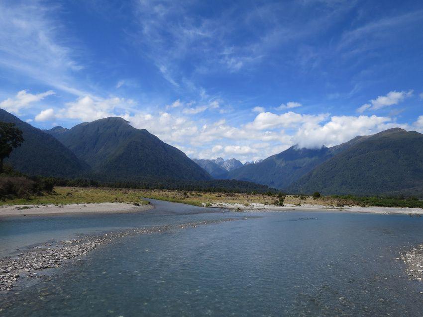 La Landsborough Valley et le confluent des rivières. Ph. Delahaye.