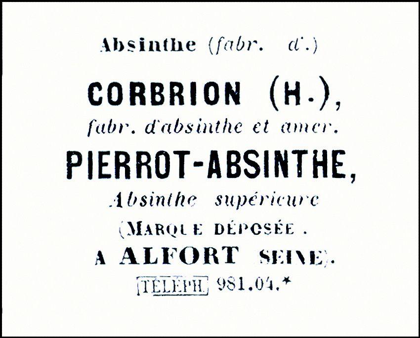 Annuaire du Commerce de la Seine, 1900. Doc. Delahaye.