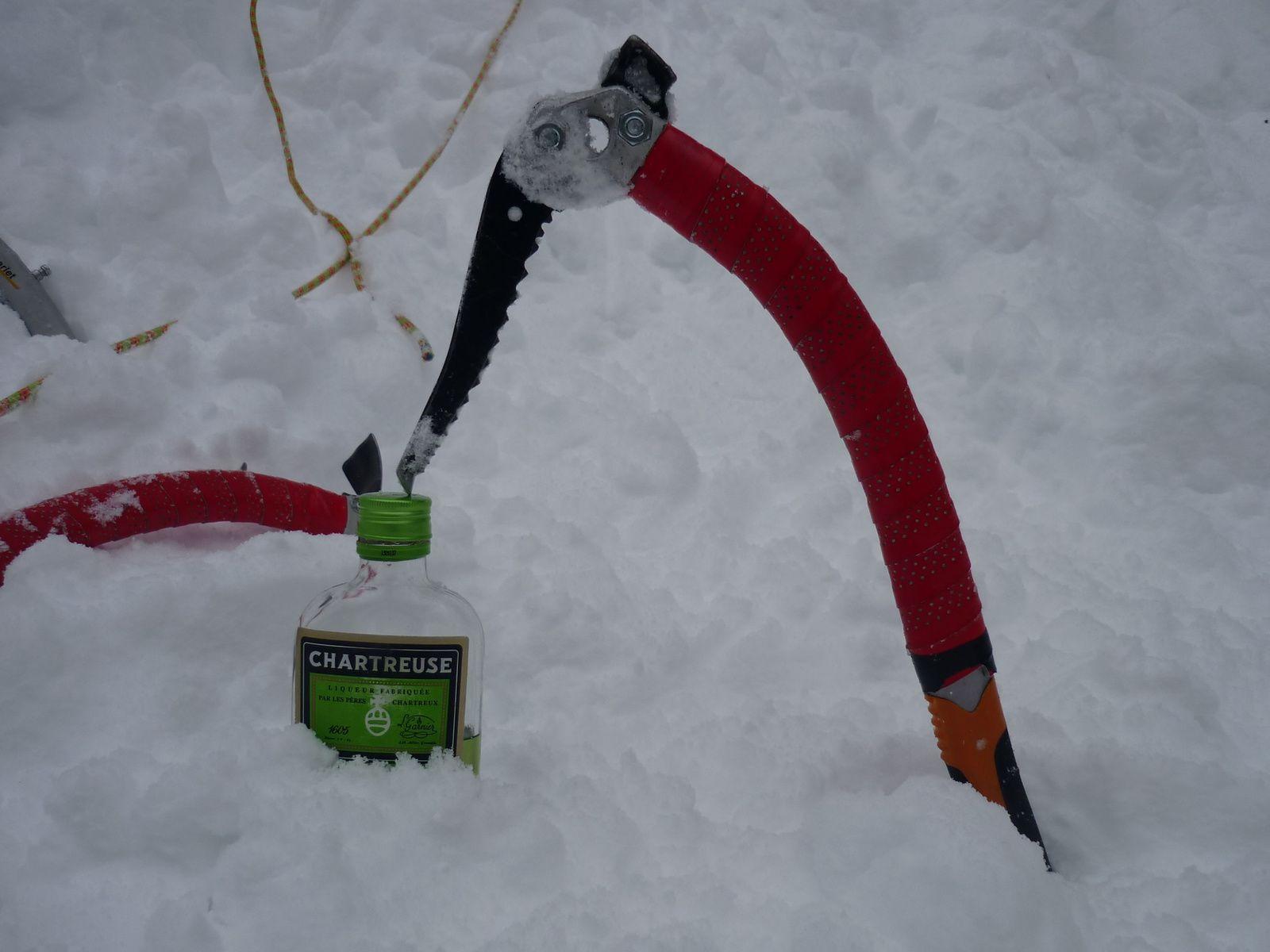 Il fait froid mais le réconfort est là : je ne part jamais sans ma Chartreuse !