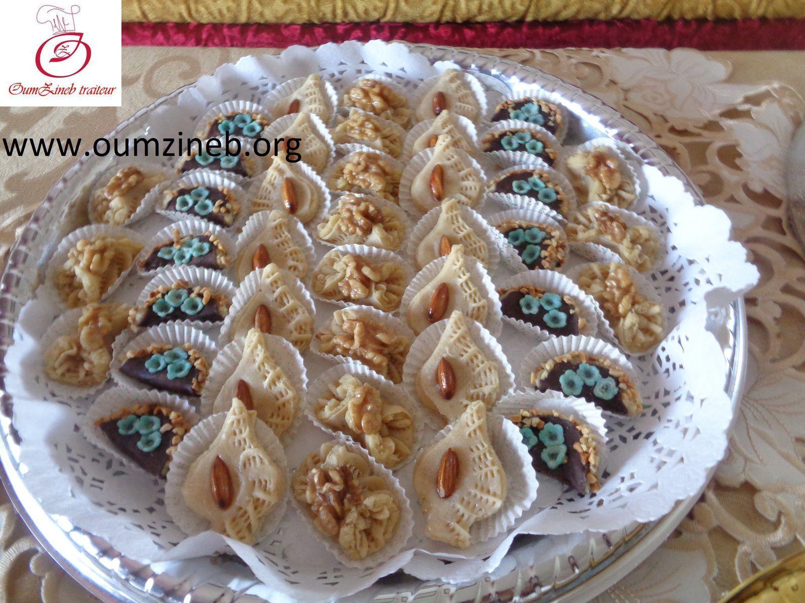 gateaux marocain pour des récéption