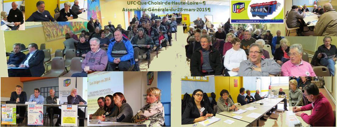 L'UFC Que Choisir de Haute-Loire en Assemblée Générale